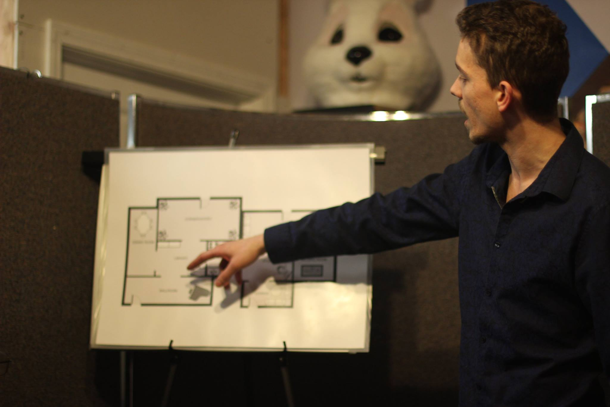 David Gamut and floor plan